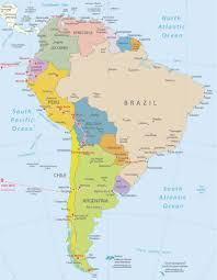 Chile South America Map by The Gringo Trail Most Famous Attractions In All Latin America