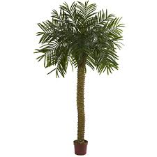 artificial tree nearly 7 ft uv resistant indoor outdoor prickly palm
