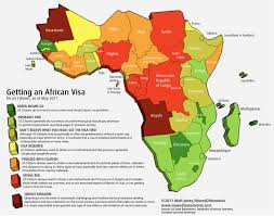 Gambia Africa Map by Moved 2 Monrovia Just How Easy Or Hard Is It To Get African Visas