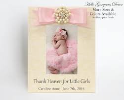 baby picture frame gift for new baby personalized baby shower