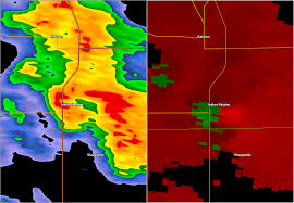 Indianapolis Radar Map Tornadoes Of August 24