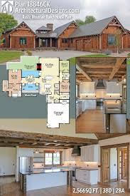 Plan CK Rustic Mountain Ranch House Plan