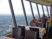 Skylon Tower Revolving Dining Room List Of Revolving Restaurants