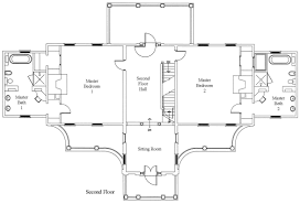 House Plans For A View Floor Plan Belle Grove Plantation Bed And Breakfast