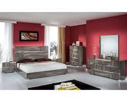 italian contemporary bedroom sets contemporary italian bedroom set in grey lacquer 44b108set