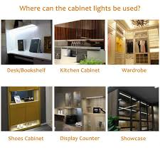 Kitchen Cabinet Downlights by Aiboo Dimmable Led Under Cabinet Kitchen Counter Showcase Lighting