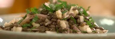 cuisiner les lentilles vertes ma recette de salade de lentilles vertes du berry laurent mariotte
