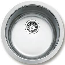 Teka BE  Stainless Steel  Bowl Round Undermount Sink CTK - Round sink kitchen