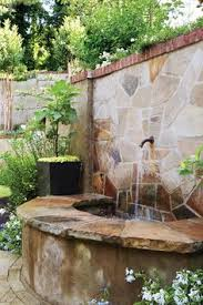 gap photos garden u0026 plant picture library rustic water feature