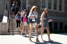 with teens everything counts in college campus visit the boston