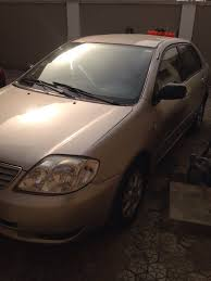 for sale toyota corolla 2003 900k negotiable one owner autos
