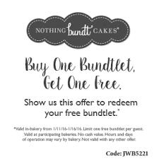 alicias deals in az u2013 search results u2013 nothing bundt cakes