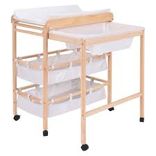 Changing Table Storage Baby Changer Changing Table Nursery Unit Storage Station Toddler