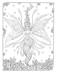 fairy mermaid coloring pages 406 best coloring people mermaid fairy images on pinterest