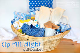 up all gift basket for baby showers new parents will