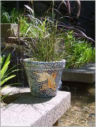 wonderful koi fish mosaic plant pots as pond ornaments cool ideas wonderful koi fish mosaic plant pots as pond ornaments cool ideas to create small garden decoration home