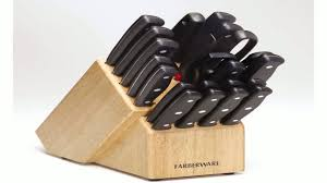 Farberware Kitchen Knives by Masterchef 13 Piece Knife Set With Block Red Youtube