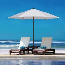 Cantilever Umbrella Toronto by Tuuci Vineyard Collection Fiber Flex Classic Shade Available From