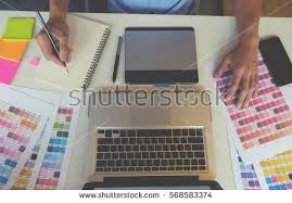 graphic designer working stock images royalty free images