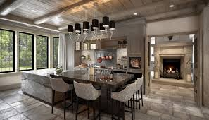 chalet style style country home kitchen country ski chalet style interior