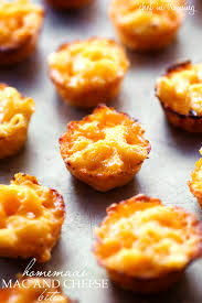 mac and cheese bites chef in