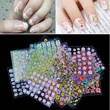 aliexpress com buy 50 sheets pack 3d mix floral designs nail
