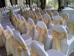 white banquet chair covers choosing wedding chair covers and sashes