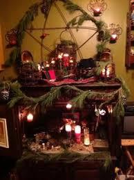 full moon altar pagan wicca altar paganisms pinterest