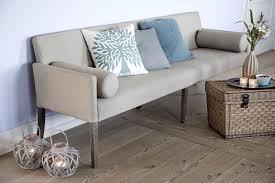 esszimmer bänke mit rückenlehne gepolsterte bank sofa im landhausstil länge 240 cm