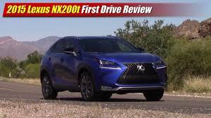 sporty lexus blue first drive 2015 lexus nx200t f sport testdriven tv