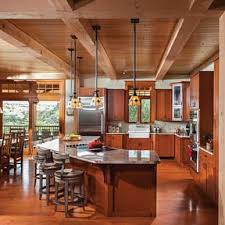 Timber Kitchen Designs Photos Timber And Log Home Kitchens And Dining Rooms