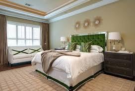 mirror headboard contemporary bedroom ej interiors