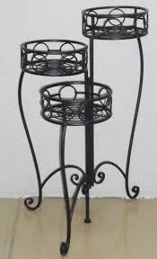 staircase antique decorative garden plant shelf wrought iron