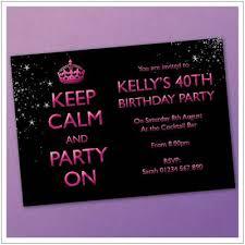 30th birthday invitations bespoke 30th birthday invites online