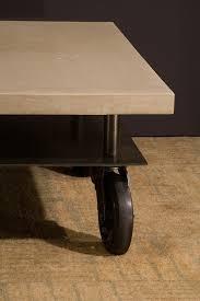 Rolling Coffee Table Rolling Coffee Table Clodagh Design
