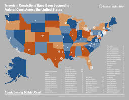 New York District Court Map by Let The Numbers Do The Talking Federal Courts Work Infographic