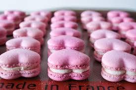 valentine u0027s heart macarons liv for cake