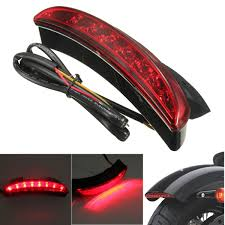 fender edge led brake tail light for harley sportster xl 883 1200