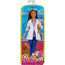 vet halloween costume barbie careers pet vet doll african american walmart com