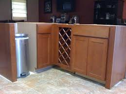 Cheap Kitchen Base Cabinets Installing 30 Inch Base Wine Rack Next To Base Cabinets Granite