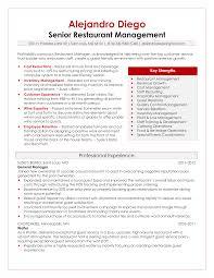 Sample Resume For Restaurant Jobs by 100 Restaurant Supervisor Duties Resume Restaurant Manager