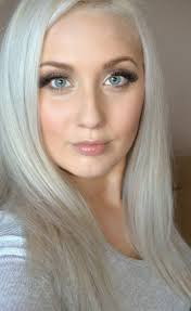 silver blonde haircolor from our archives hair color inspiration concrete silver blonde