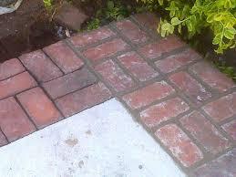 Brick Patterns For Patios Best 25 Brick Patios Ideas On Pinterest Brick Path Brick