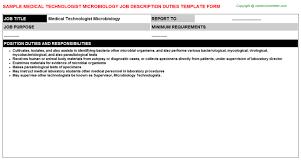 resume medical technologist microbiology medical technologist microbiology job title docs
