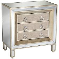 3 drawer accent table mira mirrored 3 drawer accent table 16e70 ls plus