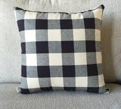 new to oldlakegeorge on etsy decorative pillow buffalo check