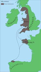 Brittany France Map Brittany