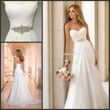 wedding dress discount vestidos de novia chiffon wedding dress vintage boho