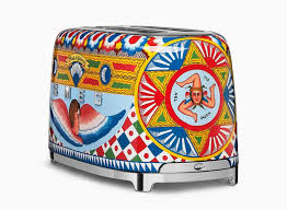 Designer Kitchen Appliances Smeg Collaborates With Dolce And Gabbana For Designer Kitchen