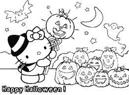 kitty halloween coloring pages girls bratz u0027 blog